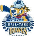 Roanoke Rail Yard Dawgs logo