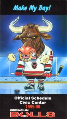 Birmingham Bulls 1995 96 Schedule